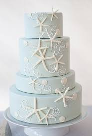theme wedding cakes toasted coconut cake with fresh flowers blue cakes starfish and