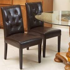 Noble House Dining Chairs Noble House Trent Home Rockwell Dining Chair In Brown Set Of 2