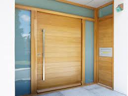 beautiful modern single front door designs wooden elegant wooden