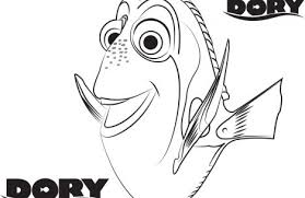 dory coloring pages colorings