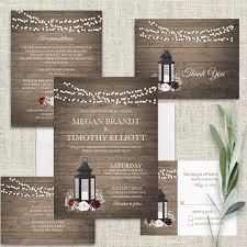 lantern wedding invitations metal lantern wedding invitations burgundy floral