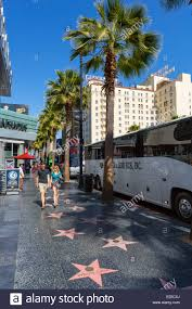 Hollywood Walk Of Fame Map Stars On Hollywood Walk Fame Stock Photos U0026 Stars On Hollywood