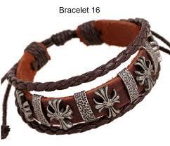 leather hand bracelet images Bracelets mens ladies bracelets vintage rope leather hand woven png
