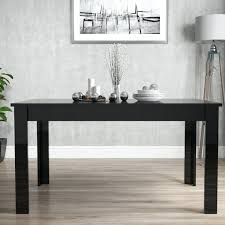 dining table extendable 4 to 8 black high gloss dining table fresh dining room ideas brilliant