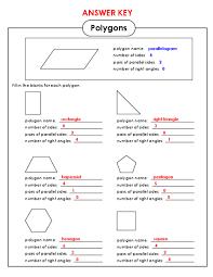 polygons worksheet 4th grade worksheets