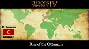 Location Of The Ottoman Empire by Europa Universalis 4 Timelapse Rise Of The Ottomans 1444 1821