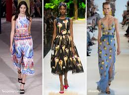 spring fashion colors 2017 spring summer 2017 print trends fashionisers