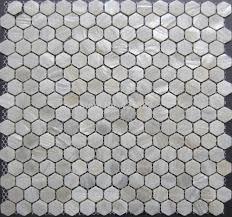 hexagon tile pearl mother of pearl tile hexagon 20mm backsplash
