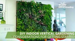 how to plant a diy indoor vertical garden system beginners guide