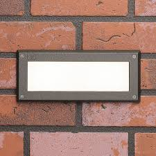 Kichler Step Lights 2700k White Led Deck Brick Light In Azt