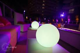 led glow balls floating globes pool decorations