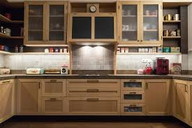 wood kitchen cabinet boxes modern vintage kitchen made of beech wood material inside