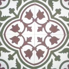 floral spanish design hydraulic authentic andalusian tiles for