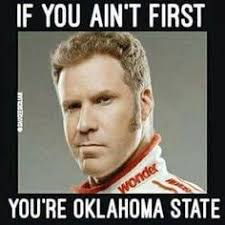 Oklahoma State Memes - you only live once indiana pinterest
