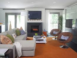 hgtv room ideas a modern great room that fits a family elbow room hgtv