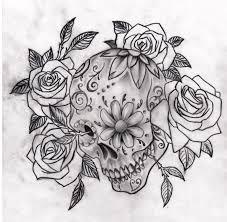 sugar skull roses fantastic