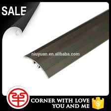 Laminate Floor Stair Nose Floor Anti Slip Transition Strips Rubber Stair Nosing Aluminium