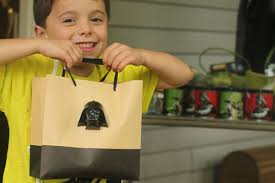 wars gift bags wars birthday party with jedi academy