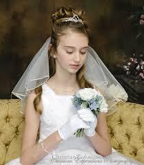 communion headpiece claddagh knot bridal or communion tiara headpiece