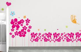 Stickers Arbre Pour Chambre Bebe by Ds132 U2013 Sticker Frise De Fleurs Deco Vitres Sticker Mural