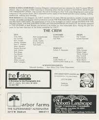 Madeline Leidy Ann Arbor Civic Theatre Program Seven Keys To Baldpate June 27