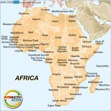 africa map atlas map of africa map in the atlas of the world world atlas