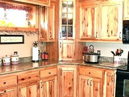 rustic hickory kitchen cabinets natural hickory kitchen cabinet hickory kitchen cabinets rustic