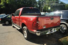 2002 ford f150 xlt red 4dr 4x4 used pickup truck sale
