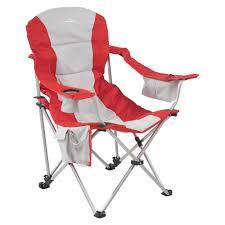 Folding Recliner Chair Retreat Recliner Chair Red Grey