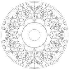 h olcay sayiner eskiz autocad drawing madalyon mandala