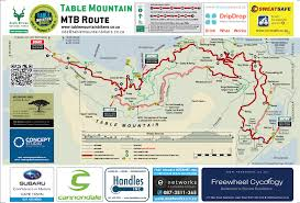 Map A Bike Route by Routes U0026 Trails Table Mountain Bikers