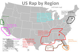 Us Regions Map Southern Us Lee U0027s Lectern