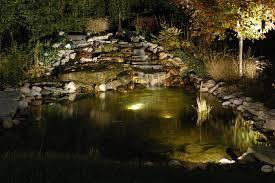 Underwater Landscape Lighting by Columbus Ohio Outdoor Lighting Nitelites