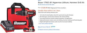 amazon black friday makita coupons new harbor freight bauer cordless tools now available at amazon