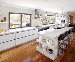 Wood Backsplash Kitchen Open Shelving Kitchen Cabinets Simple Metallic Dining Chair Sleek