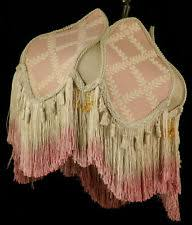 Antiqued Pink And Fuschia Beaded Pink Lamp Shades Ebay