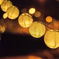 Amazon Outdoor Lighting Solar Powered Lanterns String Lights Outdoor Lighting 25 Led