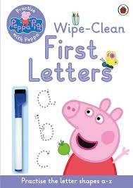 peppa pig practise peppa wipe clean writing