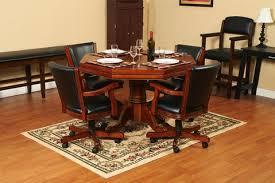 carmelli kingston hardwood poker dining room and bumper pool