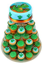 dinosaur cake dinosaur birthday cupcake cake