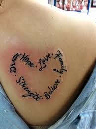 thigh quotes tattoos thigh quote tattoos for females image mag