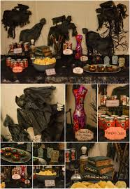girls halloween party ideas harry potter halloween party and boo broomstick tutorial
