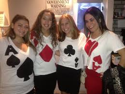 Diy Halloween Group Costumes Best Friend Group Halloween Costumes We Were 4 Of A Kind Ace