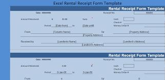 Excel Forms Template Get Excel Rental Receipt Form Template Exceltemple