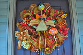 Homemade Thanksgiving Decorations by Accessories Alluring Thanksgiving Door Wreath Decoration Ideas