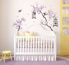 Purple Wall Decals For Nursery Baby Nursery Decor Artistic Ideas Baby Wall Decals For