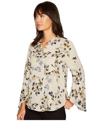 button blouses blouses sku 8963309 flared sleeve timeless bouquet button