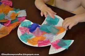 paper plate fish craft laura williams