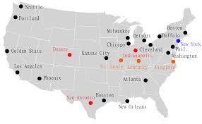 nba divisions map aba nba merger