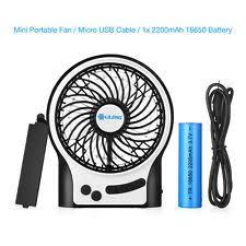 Quiet Desk Fans by Desk Fan Battery Portable Fans Ebay